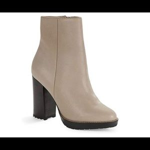 Design Lab Casual Ankle Booties